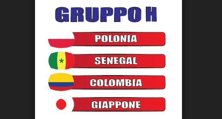 Mondiale Russia Calendario.Mondiali Russia 2018 Gruppo H Il Calendario Date Orari E