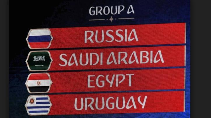 Mondiali Calendario.Mondiali Russia 2018 Gruppo A Il Calendario Orari Date E