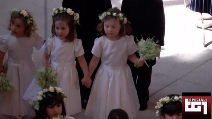 Matrimonio Harry In Chiesa : George e charlotte al matrimonio degli zii harry e meghan con altri