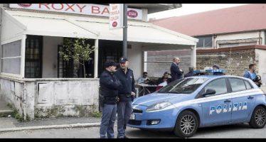 aggressioni in un bar a roma casamonica