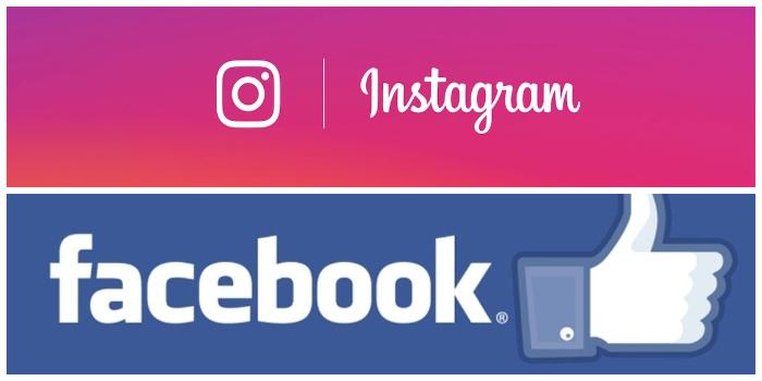Instagram e Facebook shops