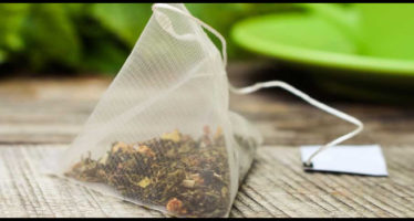 riciclare bustine del tè e delle tisane