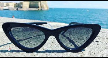 occhiali a gatta moda estate 2018