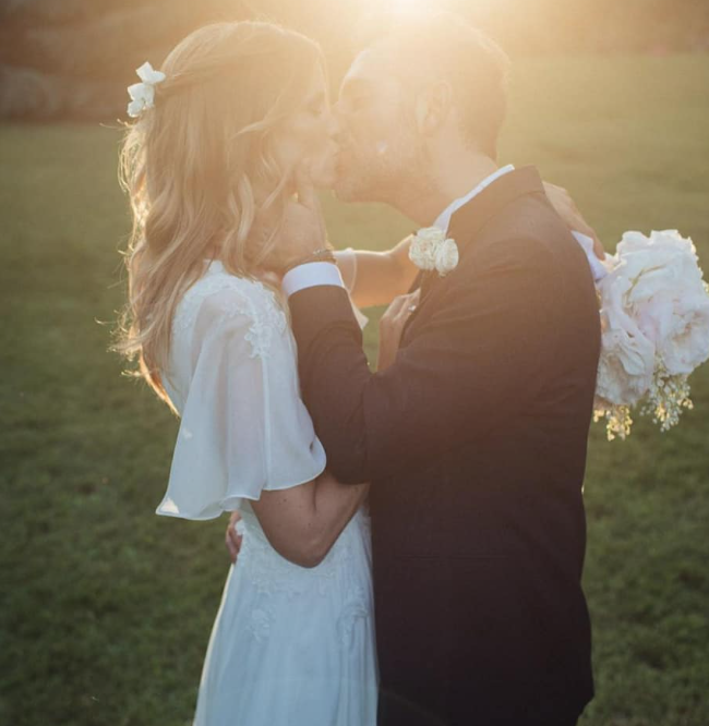 L'album di nozze di Daniele Bossari e Filippa Lagerback, le foto più belle del romantico matrimonio (Foto)