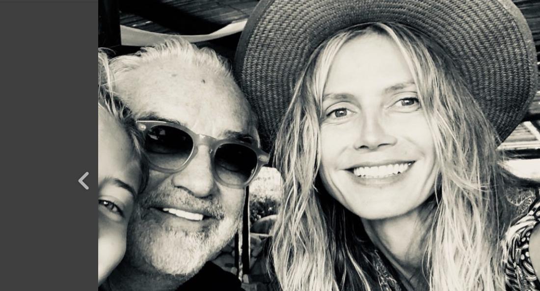 Flavio Briatore la prima foto con sua figlia ed Heidi Klum (FOTO)
