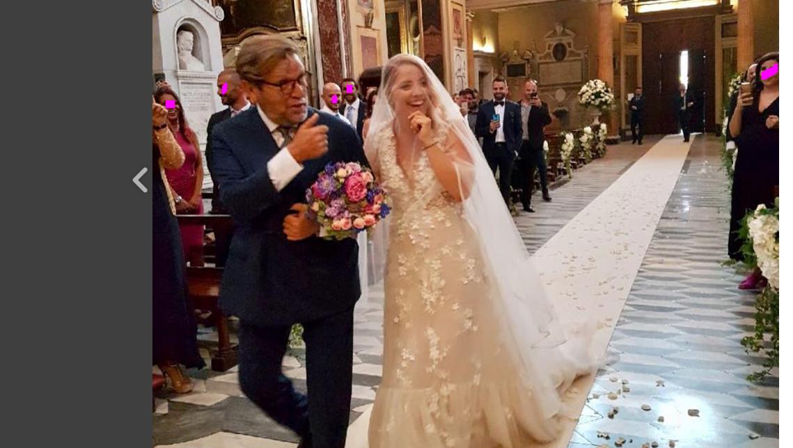 Il matrimonio di Noemi senza vip: il padre della cantante rivela il motivo