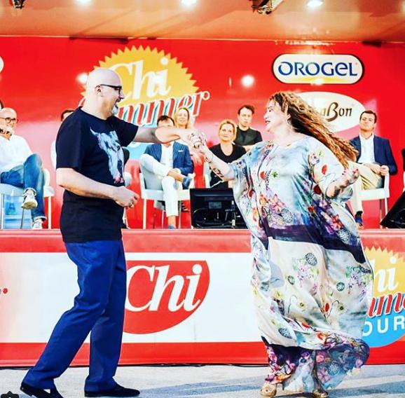 Eleonora Giorgi offende Serena Grandi consigliandole di dimagrire (Foto)