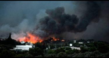 i sospetti sille cause degli incendi in grecia