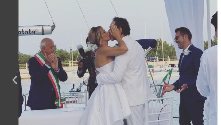 Matrimonio In Italiano : Francesca barra e claudio santamaria matrimonio italiano: le nozze a