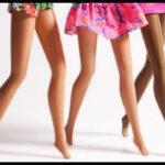 barbie feet, la foto per sembrare più alte