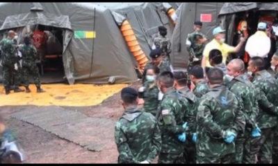thailandia, 4 ragazzi salvati dalla grotta