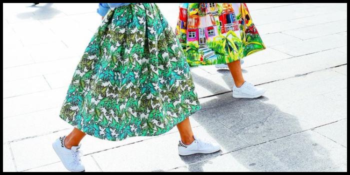 consigli per indossare scarpe da tennis in estate
