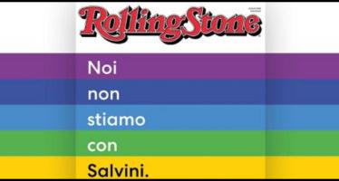 manifesto contro salvini, rolling stone