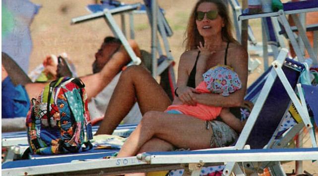 Laura Freddi mamma, la prima estate con la sua Ginevra (Foto)