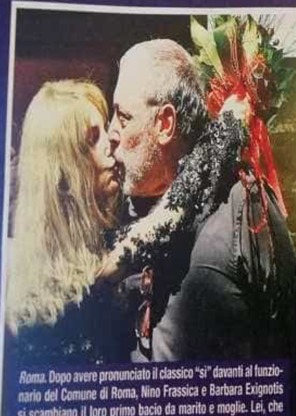 Il matrimonio di Nino Frassica e Barbara Exignotis, le foto del sì (Foto)