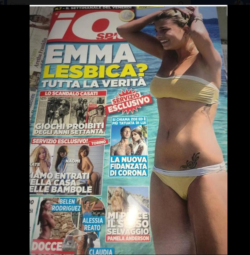 Emma Marrone lesbisca? La furia della cantante contro il giornale di Fabrizio Corona