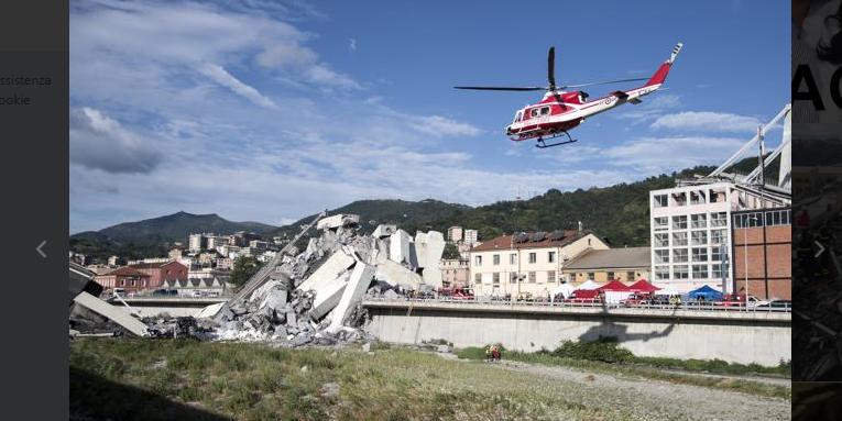 Crollo Ponte Morandi a Genova: sabato i funerali di stato delle 39 vittime, si cercano ancora i dispersi