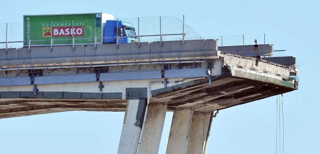 Gli ingegneri commentano il crollo del Ponte Morandi: troppa fiducia nel cemento armato