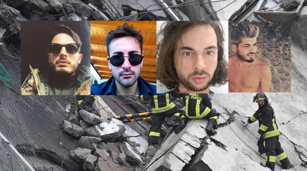 Quattro ragazzi di Torre del Greco morti nel crollo del Ponte Morandi