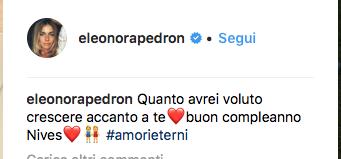 Eleonora Pedron, il messaggio alla sorella morta in un incidente ma non è l'unico dolore (Foto)