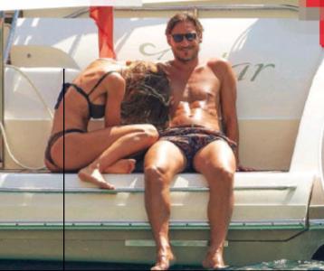 Ilary Blasi e Francesco Totti innamoratissimi sembrano due ragazzini in barca (Foto)