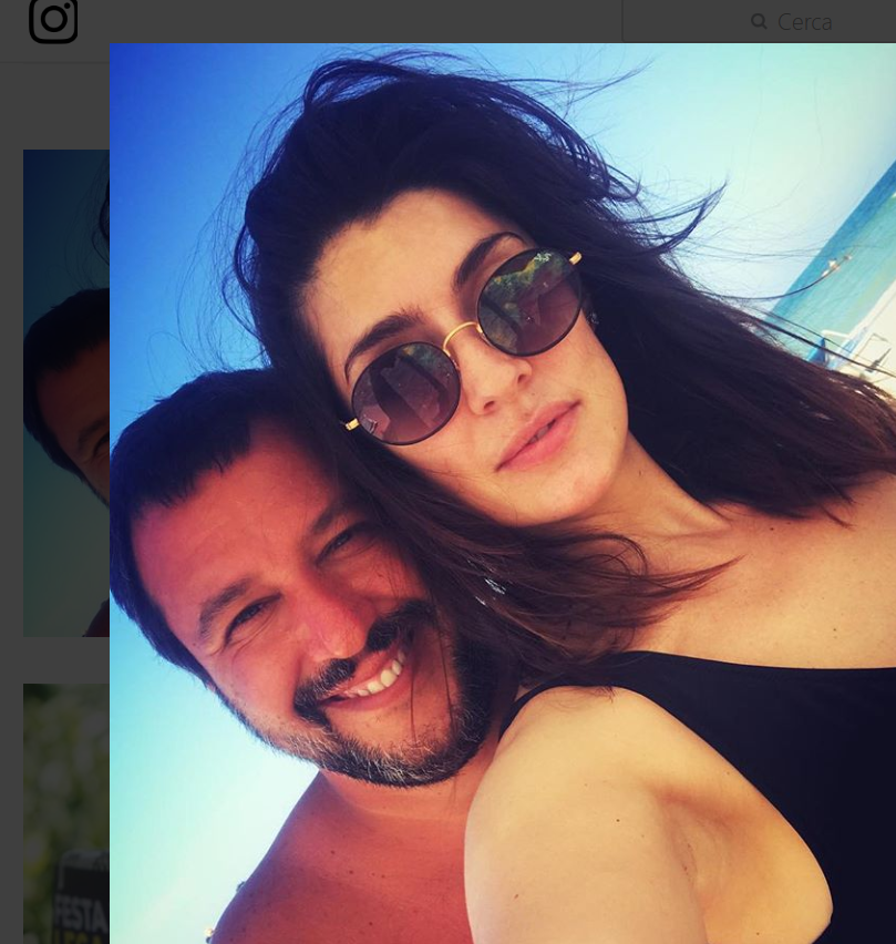 Matteo Salvini ed Elisa Isoardi vacanza in Romagna: relax anche per il Ministro
