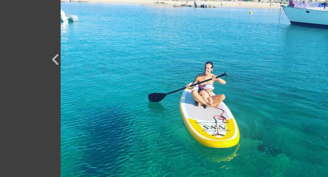 Tania Cagnotto e la piccola Mia prima estate insieme: l'album delle vacanze (FOTO)