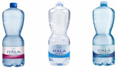 richiamati lotti di acqua fonte itala