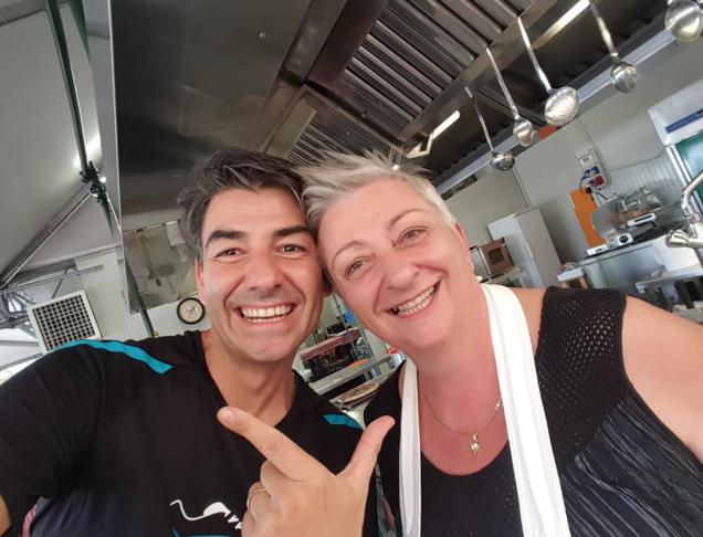 Sergio Barzetti e Alessandra Spisni insieme ma non a La prova del cuoco (Foto)