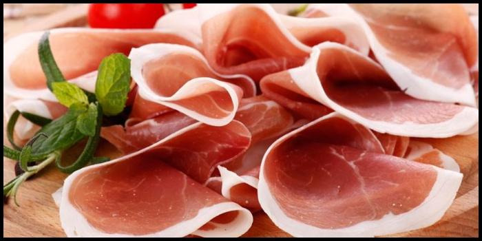 dieta proteica al prosciutto serrano