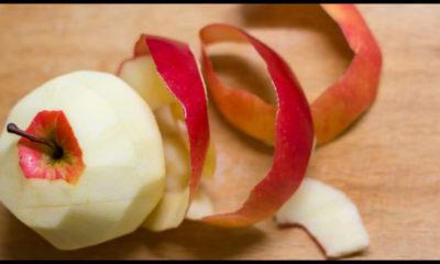 le proprietà benefiche delle bucce di mela