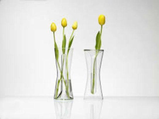 come pulire i vasi trasparenti