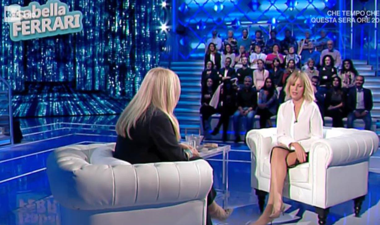 Isabella Ferrari a Domenica IN parla per la prima volta della sua malattia rara