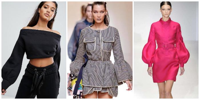 tendenze moda maniche a palloncino