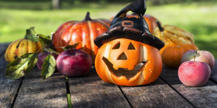 le decorazioni per halloween