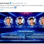Grande Fratello Vip 3 seconda puntata, i nominati: 4 vip al televoto