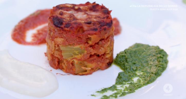 parmigiana di sedano ricette rete 4