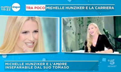 Hunziker a Sanremo 2019