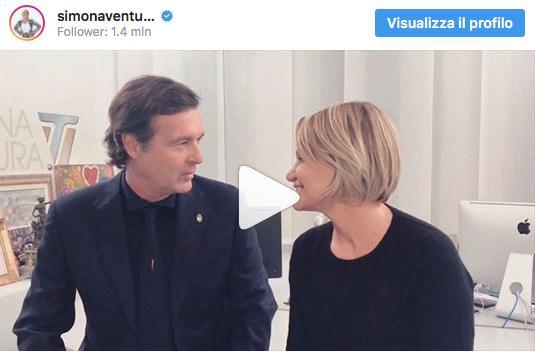 Simona Ventura e Gerò Carraro, l'addio con un video che commuove tutti (Foto)