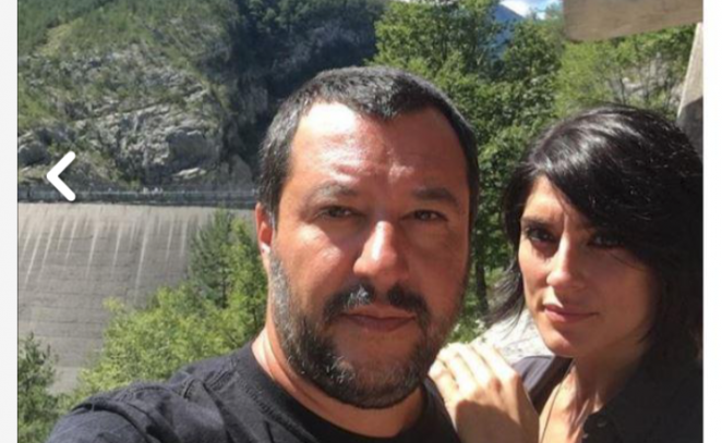 Matteo Salvini e Isoardi