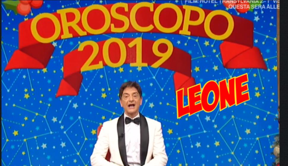oroscopo 2019 leone