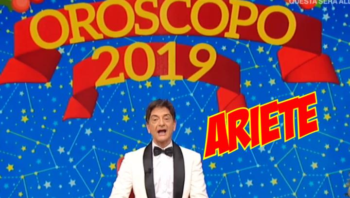 Oroscopo ariete 2019 paolo fox