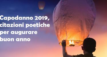 auguri capodanno 2019 citazioni poetiche