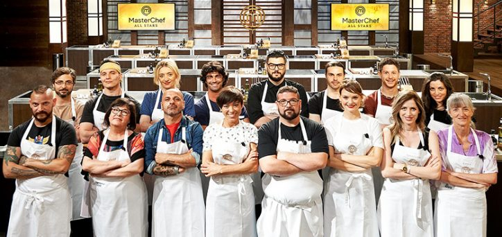 Masterchef all stars italia cast