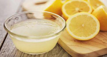 perdere peso con acqua e limone