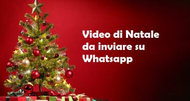 video whatsapp natale 2018