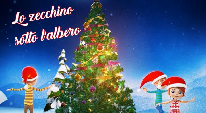 Canzoni Di Natale Zecchino D Oro.Natale In Tv Con Lo Zecchino Sotto L Albero Un Natale Di Oro