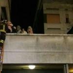 incendio palazzo reggio emilia