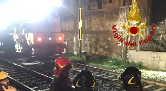 incidente ferroviario firenze operai feriti