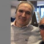Lamberto Sposini e Massimo Giletti insieme: la foto che fa sognare i fans
